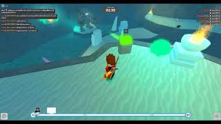 ROBLOX DEATHRUN-HOW TO KILL ALL IN ICE CAVERN