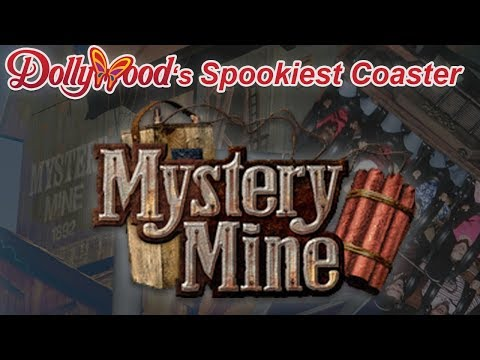 Mystery Mine: Dollywood's Most Bizarre Roller Coaster