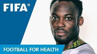 Gambar cover Michael Essien for health