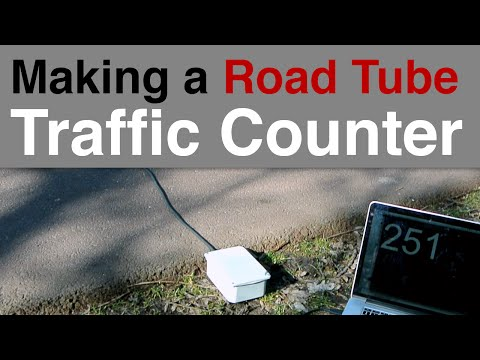 DIY Traffic Counter - Road Tube
