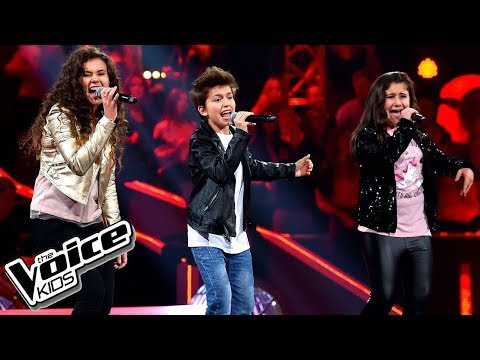 "Scardina, Szczurowska, Grigorian – ""I'm still standing"" – Battle – The Voice Kids Poland"