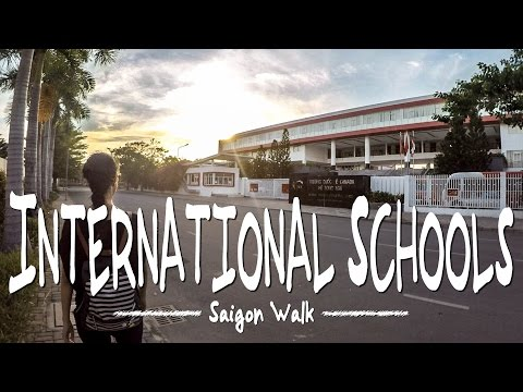 Saigon Walk: Phu My Hung/International School, District 7, Ho Chi Minh City, Vietnam [4K]