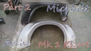 Mk 1 Escort Restoration Part 2 - Bubble Arch