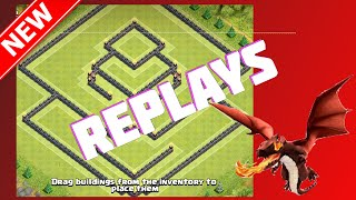 Replays Of The Decimator | Th11 War or Trophy Base! Clash Of Clans (CoC)