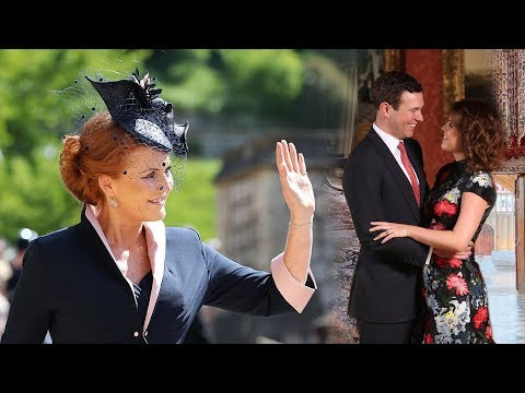 SARAH's alter ego will make her 'on hand' for Princess Eugenie wedding after royal comeback