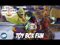 Guardians of the Galaxy Disney Infinity Toy Box Fun Gameplay with Star Lord and his Team