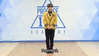 [VIETSUB] PARK JIHOON INTRODUCTION @PRODUCE 101 SEANSON 2