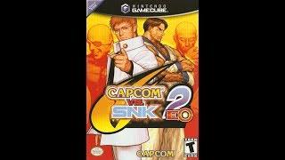 Gamecube longplay 🔵 Capcom vs. SNK 2 EO. 🔴