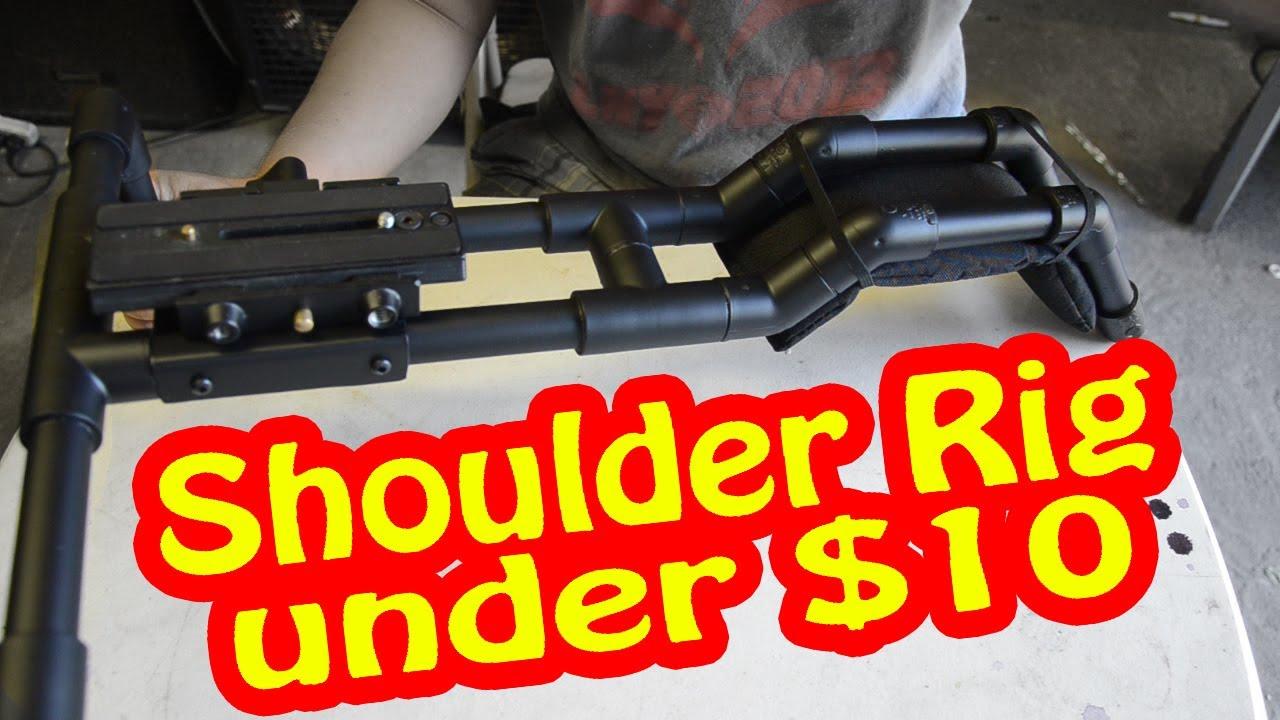 Camera Diy Dslr Camera Rig how to diy dslr shoulder rig for under 10 youtube