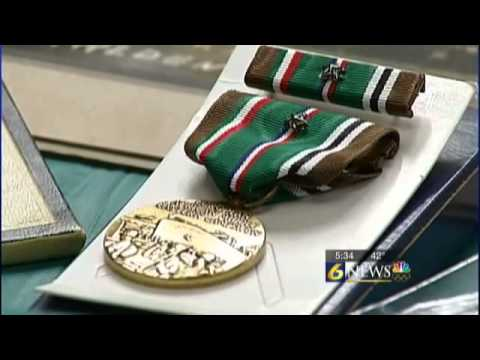 WWII Veterans reunited with medals 6 decades later