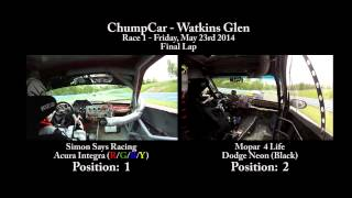 Simon Says vs Mopar 4 Life - ChumpCar Watkins Glen 2014