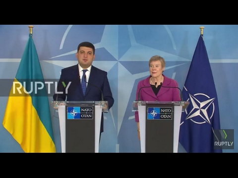 Belgium: 'The whole world' knows about 'Russian aggression' in Ukraine – Groysman