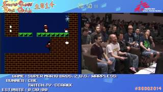 Summer Games Done Quick 2014 - Part 142 - Super Mario Bros. 2 (U.S.)