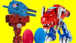 Transformers Rescue Bots Dinobot Optimus Prime, Boulder, High Tide, Bumblebee, Lots of Optimus Prime