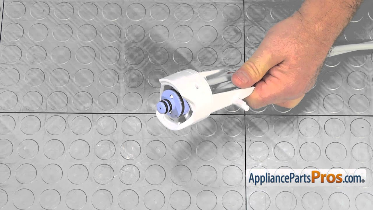 Refrigerator Water Filter Head & Tube Assembly (part #WP67004106) - How To  Replace