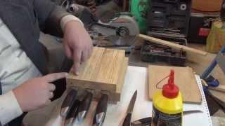 Подставка для ножей своими руками. Часть 1. Homemade Stands for knives. Part 1.