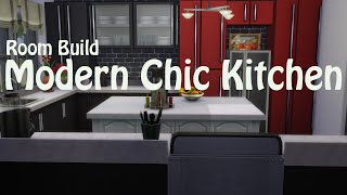 The Sims 4: Let's Build - A Modern Chic Kitchen -