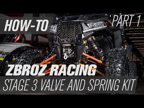 How To Install Zbroz Racing Valve and Spring Kit | Part 1