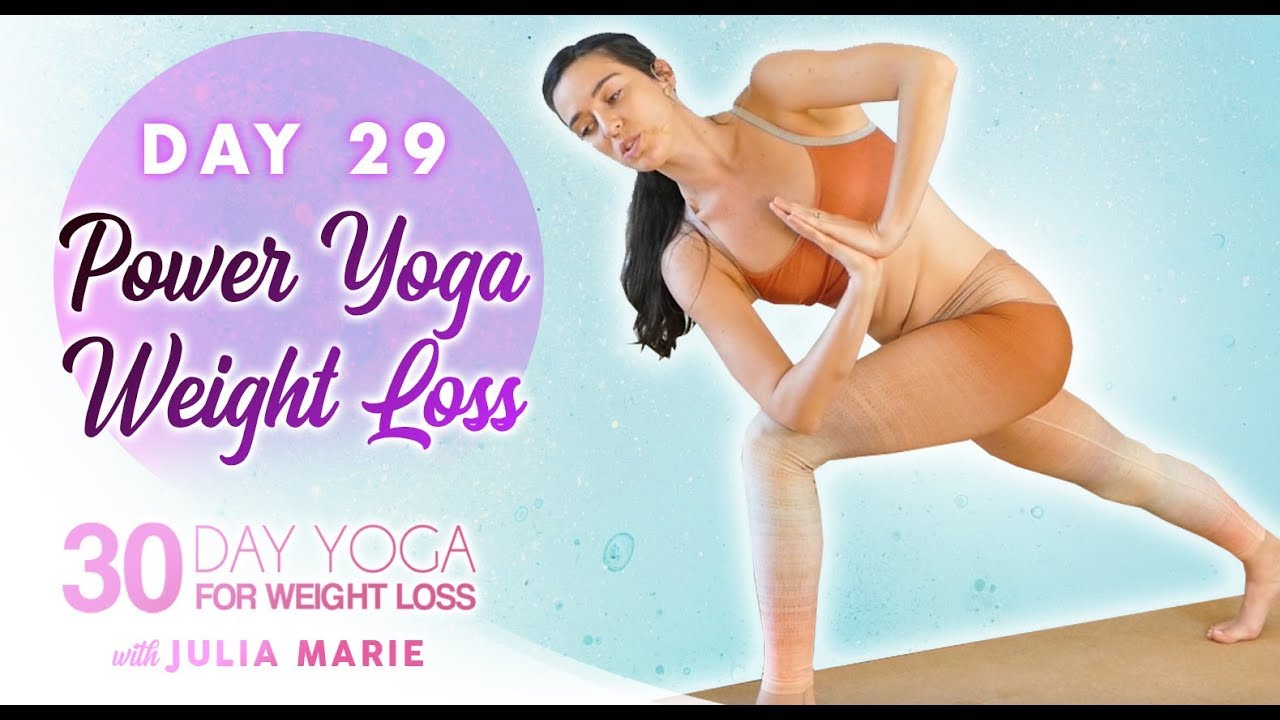 Head to Toe Power Flow, Total Body Workout ♥ Power Yoga for Weight Loss | 30 Day Yoga Day 29