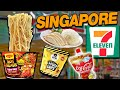 BEST FOOD at 7-ELEVEN in SINGAPORE! (Snacks & Dinner) | Fung Bros