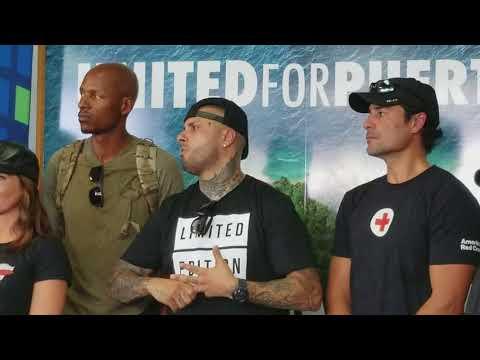 Nicky Jam , Ray Allen y Ricky Martin entre muchas estrellas mas en conferencia de prensa