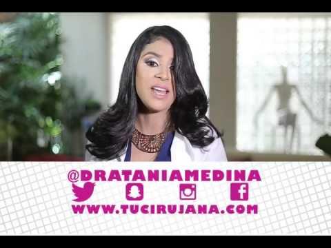 Ad for Dra Tania Medina's Services