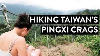 Hiking Taiwan's Pingxi Crags   Vlog