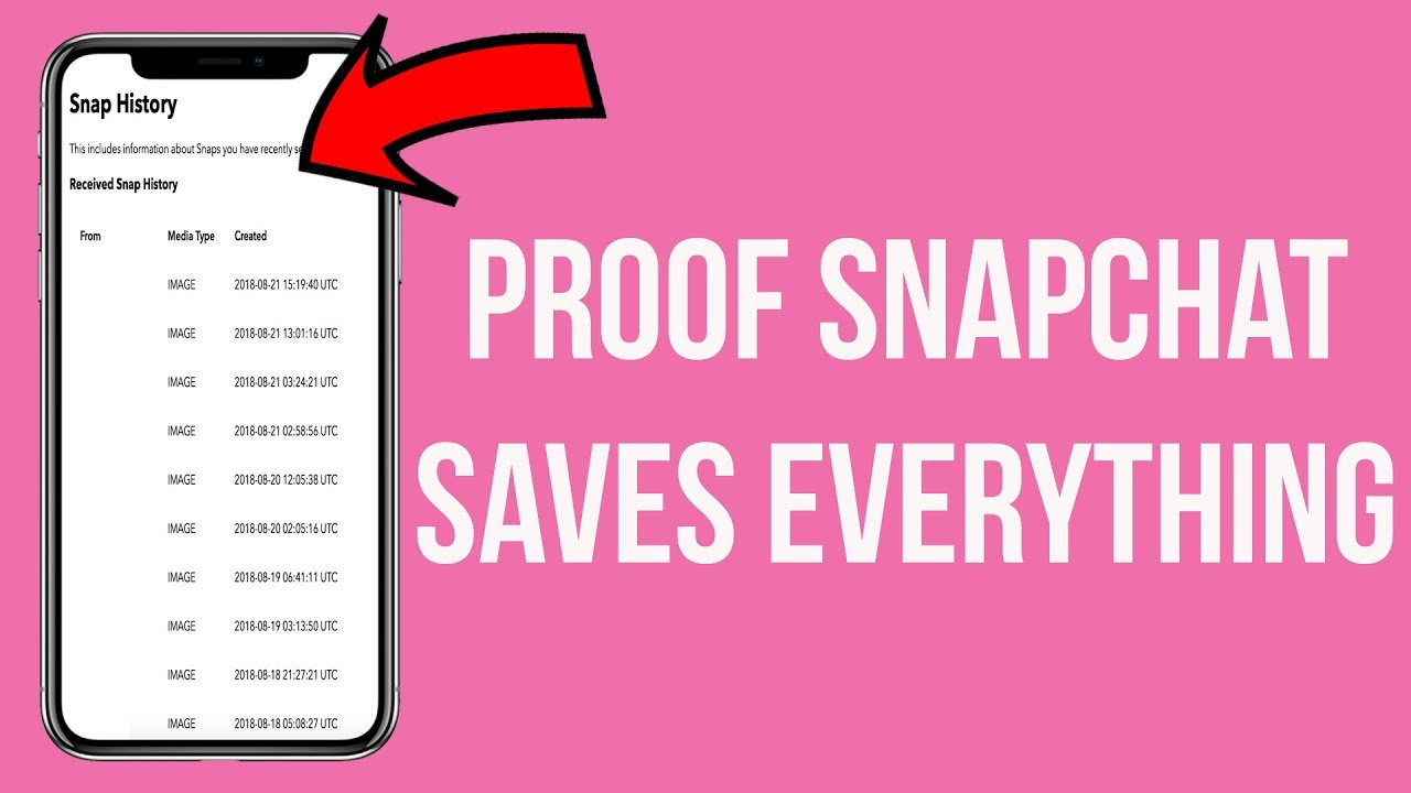 How To See All Of The Snapchats You've Sent (Proof Snapchat Doesn't Delete Your Pictures/V