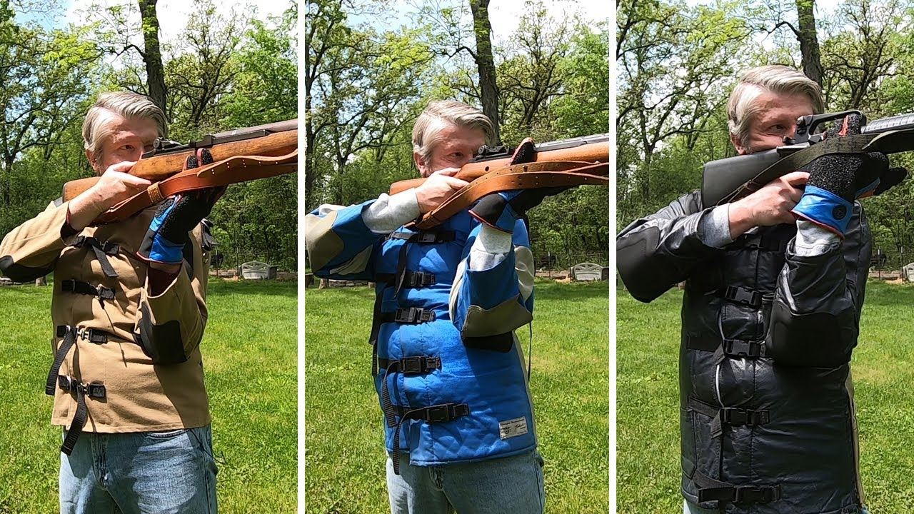 Three Shooting Coats (and Three Service Rifles) for Highpower Competition
