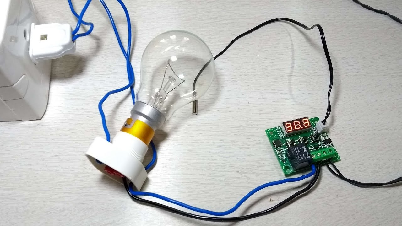 medium resolution of  w1209 digital temperature controller part two