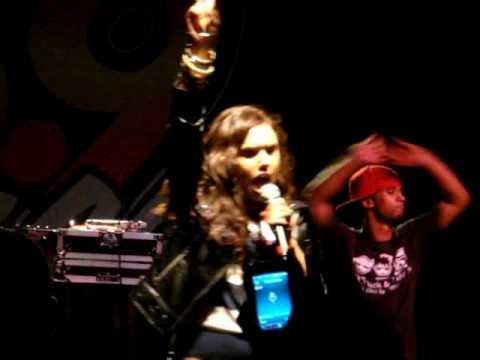 Kristina Debarge performs Goodbye live
