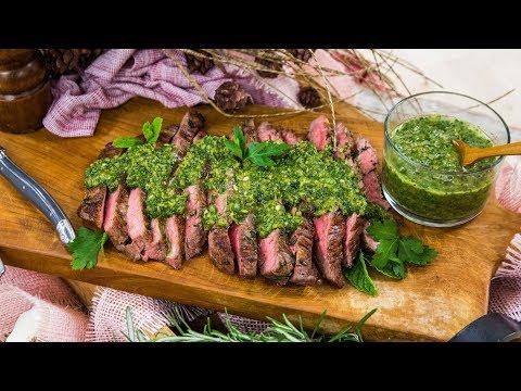 Ryan Scott's Simple Pan Seared Flank Steak - Home & Family