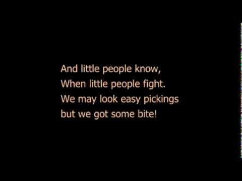 Little people - Les Miserables - sung by Gavroche w/ lyrics