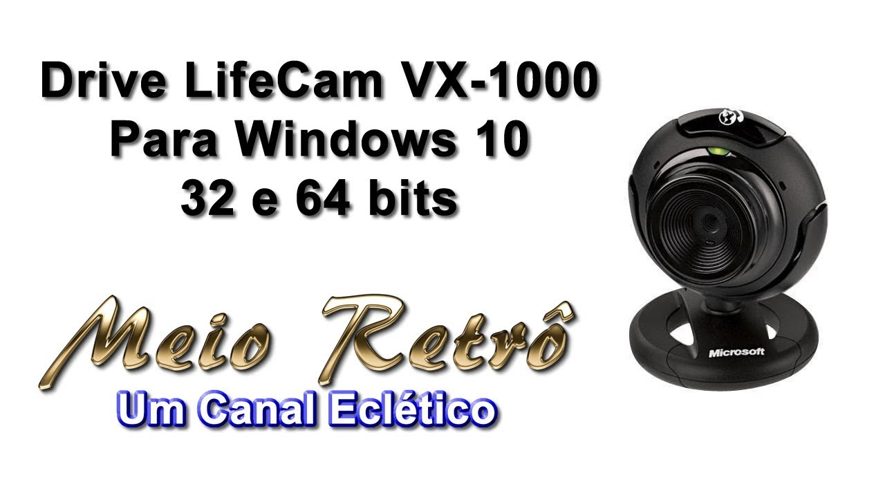 pilote lifecam vx-1000 windows 7