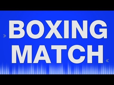 Boxing Match SOUND EFFECT - bruit boxkampf fighting SOUNDS