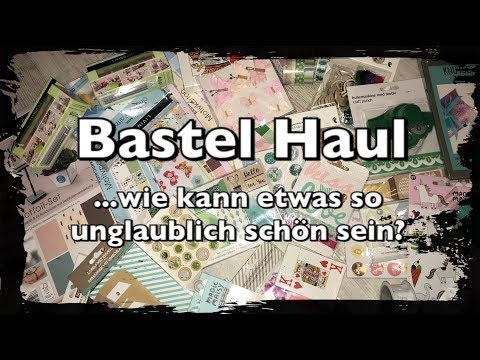Bastel Haul, Depot Haul, Stationery Haul, Bullet Journal, Bujo, Scrapbook, DIY, l