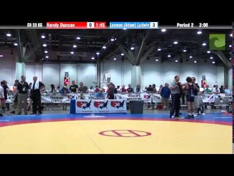 Greco GR 59 KG - Randy Duncan vs. Lawson (Adam) Ludwin