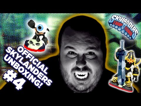 Official Skylanders Trap Team Unboxing: Krypt King, Funny Bone, Eye Small, Hijinx and Undead Traps!