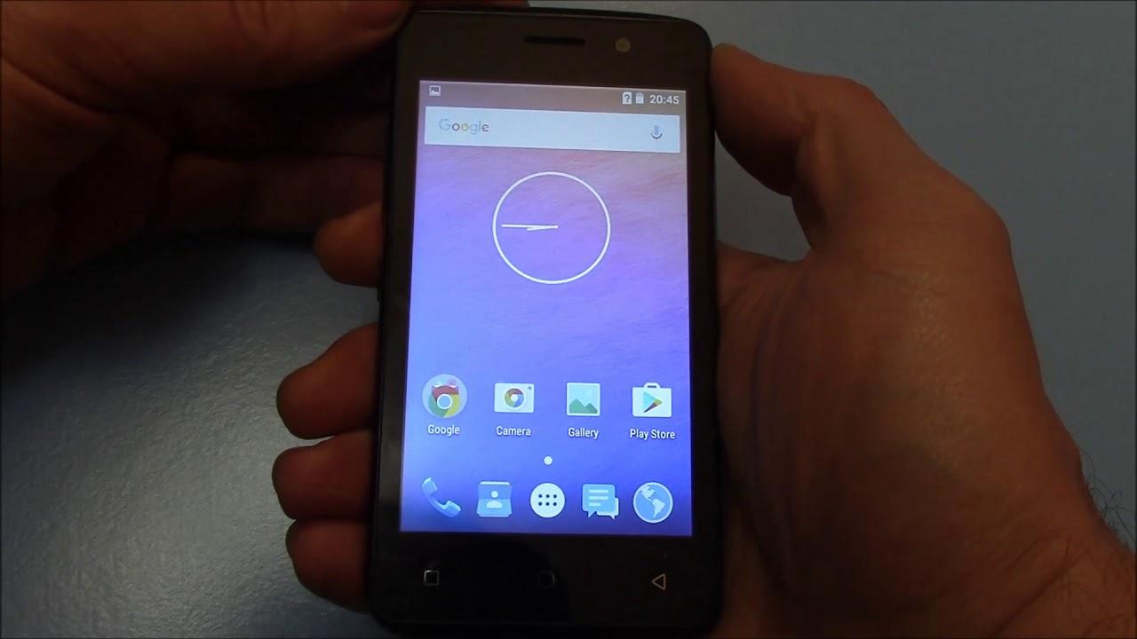 UMX MXG401 Smartphone Screenshot Tutorial