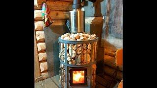 видео Дровяные печи для бани. Особенности дровяных печей для бани