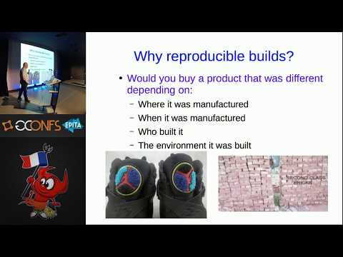 Reproducible builds on NetBSD, by Christos Zoulas (EuroBSDcon 2017)