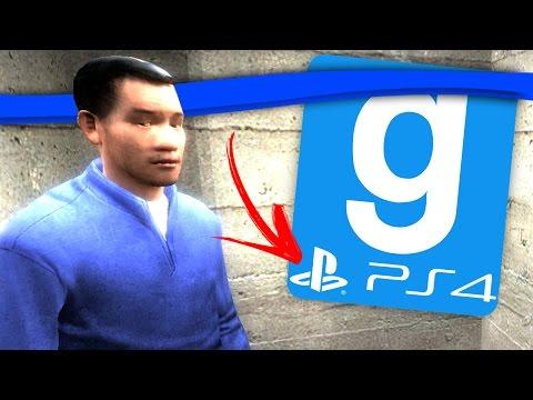 GMod no Playstation 4! Garry