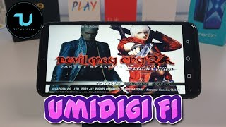 Umidigi F1 DamonPS2 Pro test/Helio P60 gaming PS2 Games/Android 9 2019