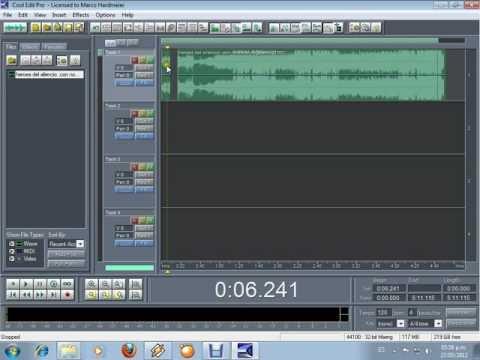 cortar canciones con cool edit pro (mejor explicado)