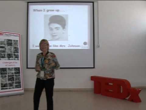 Education Plus: Sandy Abu Arja at TEDxRasAlEinSquare