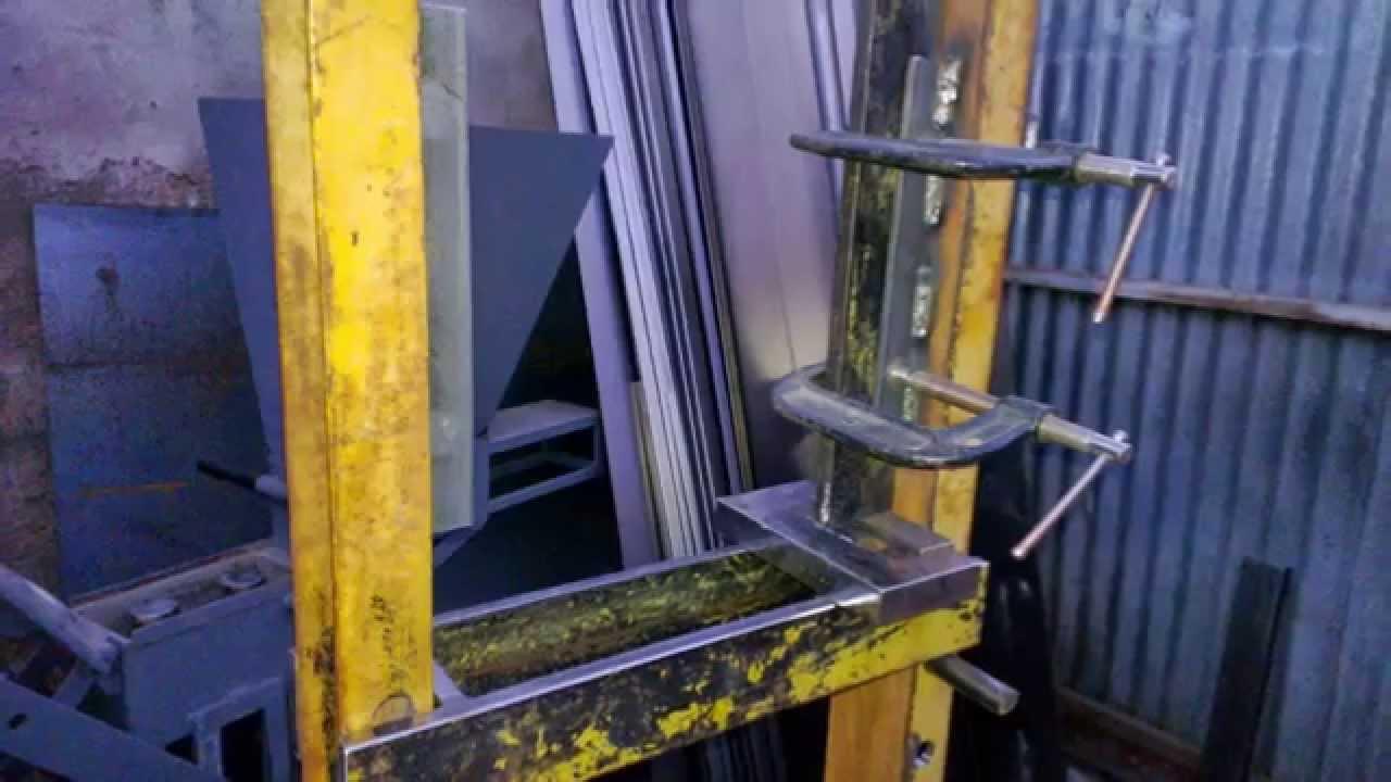 Prensa hidr ulica casera youtube for Construir una pileta de material