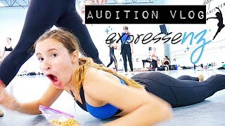 Expressenz Dance Center Audition VLOG