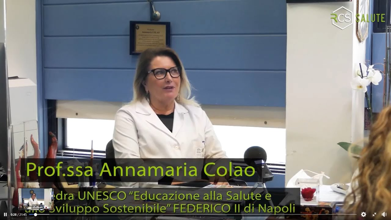 La Cattedra Unesco alla Federico II di Napoli con la Prof.ssa Colao