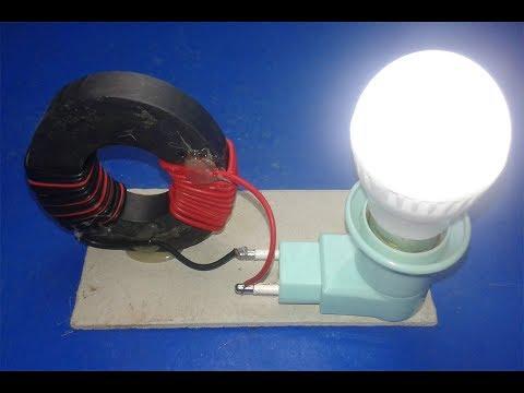 Смотреть фото Free Energy Generator  light bulb 220v with Magnet l New Technology новости россия москва