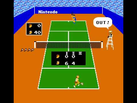 Arcade Game: Vs. Tennis (1984 Nintendo)